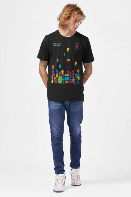 Camiseta Masculina Turma da Mônica Game