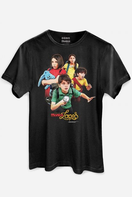 Camiseta Masculina Turma da Mônica Laços