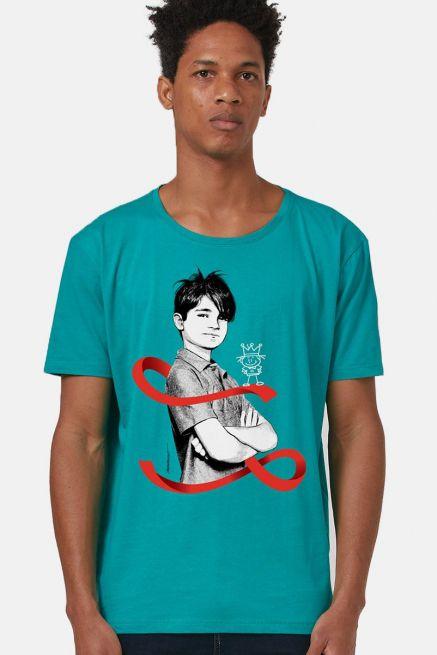 Camiseta Masculina Turma da Mônica Laços Cebolinha Laço