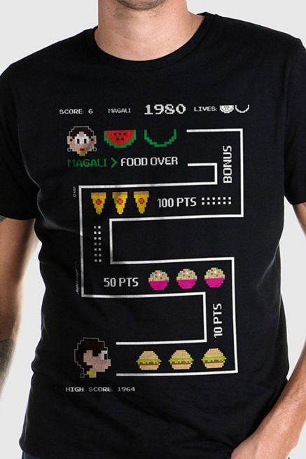 Camiseta Masculina Turma da Mônica Magali 50 Anos High Score