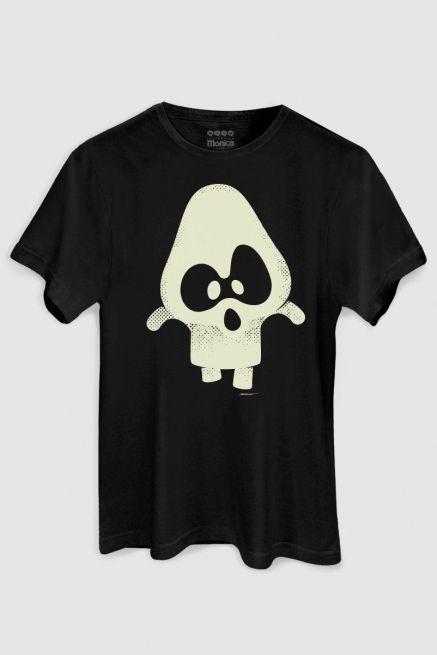Camiseta Masculina Turma da Mônica Penadinho