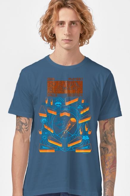 Camiseta Masculina Turma da Mônica Astronauta