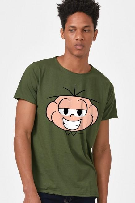 Camiseta Turma da Mônica Rostinho Cebolinha