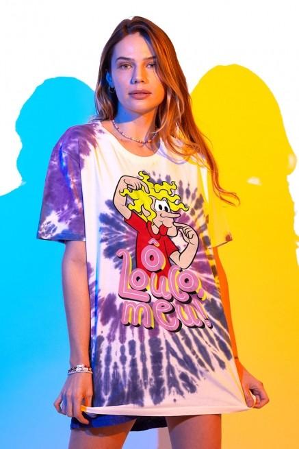 T-shirt Feminina Turma da Mônica Ô Louco Meu