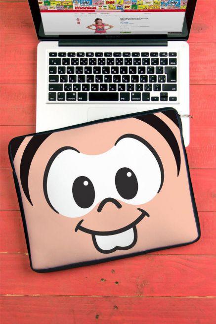 Capa Para Notebook Turma da Mônica Olhões Mônica