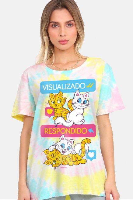T-shirt Feminina Turma da Mônica Visualizado e Respondido