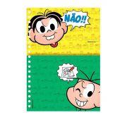 Caderno Universitário 96 Fls Turma da Mônica Cool - Cascão Chuva Não!