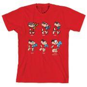 Camiseta Turma da Mônica 50 Anos Evolução Modelo 1