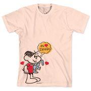 Camiseta Turma da Mônica 50 Anos Evolução Modelo 7