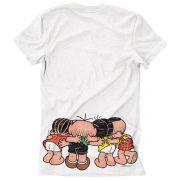 Camiseta Turma Da Mônica Cool Ícones Pequenos