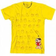 Camiseta Turma da Mônica Cool Yellow Mônica