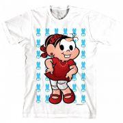 Camiseta Infantil Turma Da Mônica Kids Mônica Rock