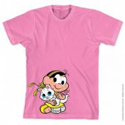 Camiseta Turma Da Mônica Kids Magali Little Pet