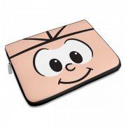 Capa Para Notebook Turma da Mônica - Olhões Cebolinha