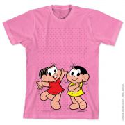 Camiseta Turma Da Mônica Kids Mônica e Magali