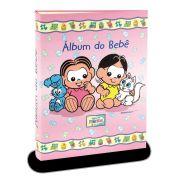 Álbum de Fotos Turma da Mônica Baby - Meninas e Seus Pets 120fts