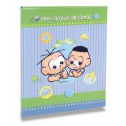 Álbum de Fotos Turma da Mônica Baby - Meninos 120fts
