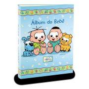 Álbum de Fotos Turma da Mônica Baby - Meninos e Seus Pets 120fts