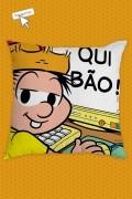Almofada Turma da Mônica Chico Bento Qui Bão!