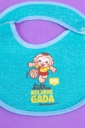 Babador Anatômico Impermeável Baby Cascão