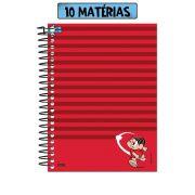 Caderno Turma da Mônica Aremesso do Sansão 10 Matérias