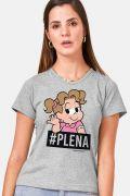 Camiseta Feminina Turma da Mônica Denise #PLENA