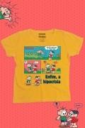 Camiseta Feminina Turma da Mônica Enfim, a Hipocrisia