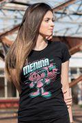 Camiseta Feminina Turma da Mônica Toda Menina