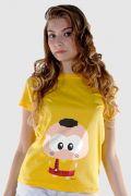 Camiseta Feminina Turma da Mônica Toy Big Cascão
