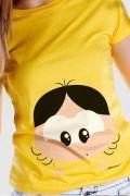 Camiseta Feminina Turma da Mônica Toy Big Magali