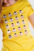 Camiseta Feminina Turma da Mônica Toy Look Cascão