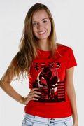 Camiseta Feminina Turma da Mônica Toy Monizilla