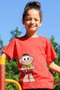 Camiseta Infantil Turma Da Mônica Cascão