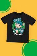 Camiseta Infantil Turma da Mônica Cebolinha Radical