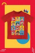 Camiseta Infantil Turma da Mônica Donas da Rua Pop Art