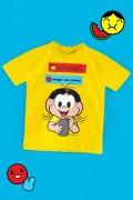 Camiseta Infantil Turma da Mônica Maga, Sua Louca