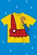 Camiseta Infantil Turma da Mônica Roupinha Cascão