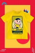 Camiseta Infantil Turma da Mônica Sou a Magali Dona da Rua