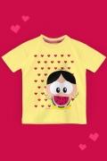 Camiseta Infantil Turma da Mônica Toy Amo Melancia