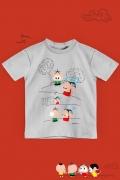Camiseta Infantil Turma da Mônica Toy Monicóptero