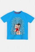 Camiseta Infantil Turma da Mônica Trono de Sansão