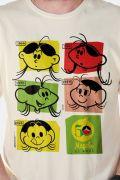 Camiseta Masculina Magali 50 Anos Evolução Colors
