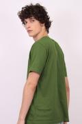 Camiseta Masculina Turma da Mônica Cebolinha Ouvindo Música
