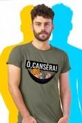 Camiseta Masculina Turma da Mônica Chico Bento Ô, Cansêra!