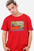 Camiseta Masculina Turma da Mônica Decepção