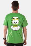 Camiseta Masculina Turma da Mônica Olhões Horácio