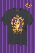 Camiseta Masculina Turma da Mônica Leleala Legião dos Leitões Alados