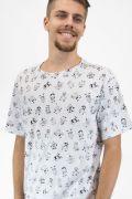 Camiseta Masculina Turma da Mônica Personagens