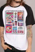 Camiseta Raglan Masculina Turma da Mônica #TBT