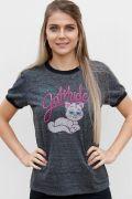 Camiseta Ringer Feminina Turma da Mônica Mingautitude